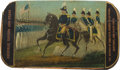 Political:3D & Other Display (pre-1896), Zachary Taylor: Very Rare Stogie Case....