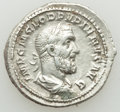 Ancients:Roman Imperial, Ancients: Pupienus (AD 238). AR denarius (20mm, 3.77 gm, 12h).Choice VF....