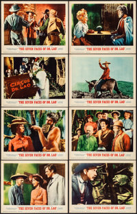 """The 7 Faces of Dr. Lao (MGM, 1964). Very Fine+. Lobby Card Set of 8 (11"""" X 14""""). Fantasy. ... (Total: 8 Items)"""