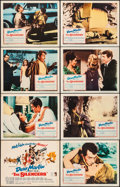 """Movie Posters:Action, The Silencers (Columbia, 1966). Overall: Very Fine-. Lobby Card Setof 8 (11"""" X 14""""). Robert McGinnis Artwork. Action.. ... (Total: 8Items)"""