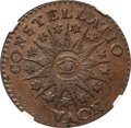Colonials, 1785 Nova Constellatio Copper, Pointed Rays, Large Date, MS64 BrownNGC. Crosby 3-B, W-1895, R.2....