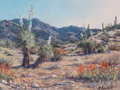 Paintings:Contemporary   (1950 to present), Florence Sackett (American, b. 1927). Yucca Valley. Oil on canvas. 12 x 16 inches (30.5 x 40.6 cm). Signed lower right: ...