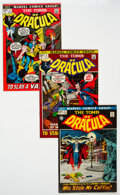 Bronze Age (1970-1979):Horror, Tomb of Dracula Group of 6 (Marvel, 1972-73) Condition: AverageNM-....