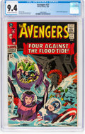 Silver Age (1956-1969):Superhero, The Avengers #27 (Marvel, 1966) CGC NM 9.4 Off-white to wh...