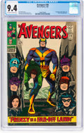 Silver Age (1956-1969):Superhero, The Avengers #30 (Marvel, 1966) CGC NM 9.4 Off-white to wh...