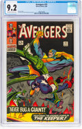 Silver Age (1956-1969):Superhero, The Avengers #31 (Marvel, 1966) CGC NM- 9.2 Off-white to w...
