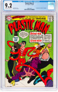Silver Age (1956-1969):Superhero, Plastic Man #1 (DC, 1966) CGC NM- 9.2 Off-white to white p...