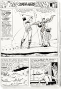 """Original Comic Art:Panel Pages, Murphy Anderson Brave and the Bold #62 Starman Part 3 """"The Big Super-Hero Hunt"""" Original Art Group of 6 Consecutiv..."""