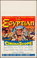 Movie Posters:Drama, The Egyptian & Other Lot (20th Century Fox, 1954). Very Fi...