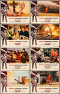 "Movie Posters:Action, Hellfighters (Universal, 1969). Very Fine-. Lobby Card Set of 8(11"" X 14""). Action.. ... (Total: 8 Items)"