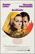 Movie Posters:Drama, Sunflower & Other Lot (Avco Embassy, 1970). Folded, Very F...