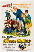Movie Posters:Musical, The Gnome-Mobile & Other Lot (Buena Vista, 1967). Folded, ...