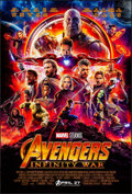 Movie Posters:Action, Avengers: Infinity War (Walt Disney Pictures, 2018). Rolle...