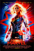 "Movie Posters:Action, Captain Marvel (Walt Disney Studios, 2019). Rolled, Very Fine. One Sheet (27"" X 40"") DS Advance. Action.. ..."