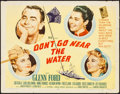 Movie Posters:Comedy, Don't Go Near the Water (MGM, 1957). Rolled, Fine....