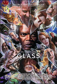 """Glass (Universal, 2019). Rolled, Very Fine/Near Mint. Comic-Con Exclusive One Sheet (27"""" X 40"""") DS, Alex Ross..."""