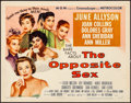 Movie Posters:Drama, The Opposite Sex (MGM, 1956). Rolled, Very Fine-. ...
