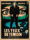 Movie Posters:Crime, Tiger Bay (Rank, 1959). Fine+ on Linen. Autographe...