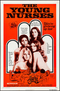 Movie Posters:Thriller, The Young Nurses & Other Lot (New World, 1973). Folded, Ve...