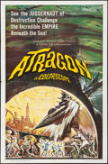 Movie Posters:Science Fiction, Atragon & Other Lot (American International, 1964). Folded...