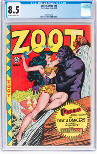 Zoot Comics #15 (Fox Features Syndicate, 1948) CGC VF+ 8.5 Off-white to white pages