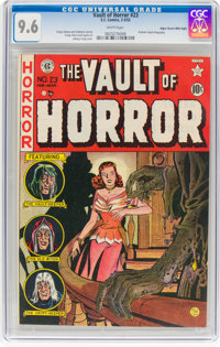 Vault of Horror #23 Mile High Pedigree (EC, 1952) CGC NM+ 9.6 White pages