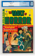 Golden Age (1938-1955):Horror, Vault of Horror #14 Gaines File Copy 1/9 (EC, 1950) CGC NM 9.4 White pages....