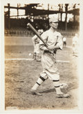 Baseball Collectibles:Photos, 1910's Home Run Baker Original News Service Photograph by ...