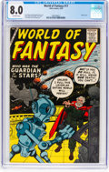 Silver Age (1956-1969):Science Fiction, World of Fantasy #17 (Atlas, 1959) CGC VF 8.0 Off-white pages....