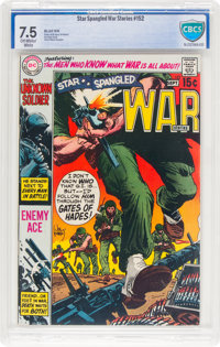 Star Spangled War Stories #152 (DC, 1970) CBCS VF- 7.5 Off-white to white pages