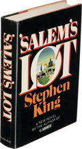 Books:First Editions, Stephen King. 'Salem's Lot. Garden City: 1975. First edition. Inscribed....