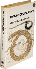 Books:First Editions, Anne McCaffrey. Dragonflight. New York: 1968. Firsthardcover edition. ...