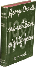 Books:First Editions, George Orwell. Nineteen Eighty-Four. London: Secker & Warburg, 1949. First edition. ...