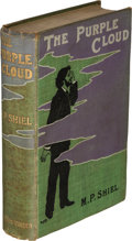 Books:First Editions, M. P. Shiel. The Purple Cloud. London: 1901. First edition....