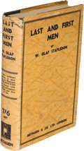 Books:First Editions, W. Olaf Stapledon. Last and First Men. A Story of the Near and Far Future. London: Methuen & Co. Ltd., 1930. Fir...