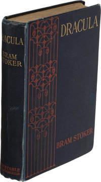 Bram Stoker. Dracula. Westminster: Archibald Constable & Co., 1904. Stated eighth edition. Inscribed by the author...