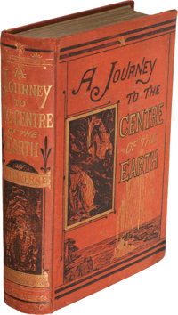 Jules Verne. A Journey to the Centre of the Earth. New York: Scribner Armstrong and Co., 1874 (November 1873). First