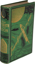 Books:First Editions, Jules Verne. From the Earth to the Moon. New York: 1874.First U. S. edition. ...