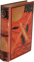 Books:First Editions, Jules Verne. [Louis Mercier and Eleanor E. King, translators].From the Earth to the Moon. D...