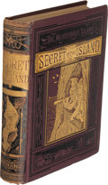 Books:First Editions, Jules Verne. The Secret of the Island. New York: 1876. FirstU. S. edition....
