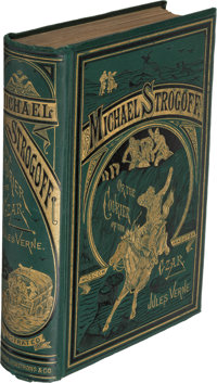 Jules Verne. Michael Strogoff. New York: 1877. First U. S. edition