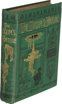 Jules Verne. The Begum's Fortune. Philadelphia: 1879. First U. S. edition