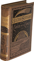 Books:First Editions, Jules Verne. Pair of Space Stories. London: [1877?]-1878. One first and one early English edition.... (Total: 2 Items)
