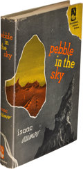 Books:First Editions, Isaac Asimov. Pebble in the Sky. Garden City: 1950. Firstedition.. ...