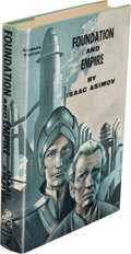 Books:First Editions, Isaac Asimov. Foundation and Empire. New York: 1952. First edition, second printing. Inscribed. ...