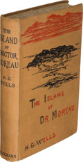 Books:First Editions, H. G. Wells. The Island of Doctor Moreau. London: [1896]. First edition....
