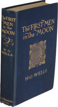 Books:First Editions, H.G. Wells. The First Men in the Moon. London: 1901. First English edition....