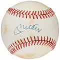 Autographs:Baseballs, 1985-89 Mickey Mantle First Name Single Signed Baseball....