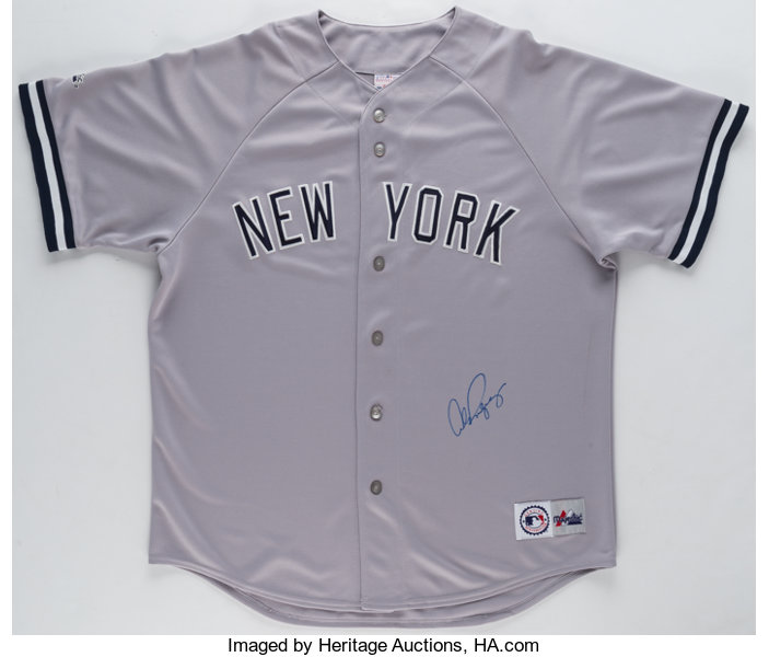 separation shoes b1a66 b028b Alex Rodriguez Signed New York Yankees Jersey.... Autographs ...
