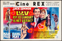 """Luv & Other Lot (Columbia, 1967). Folded, Overall: Very Fine-. Belgian (21.5"""" X 14.25"""") & Aust..."""